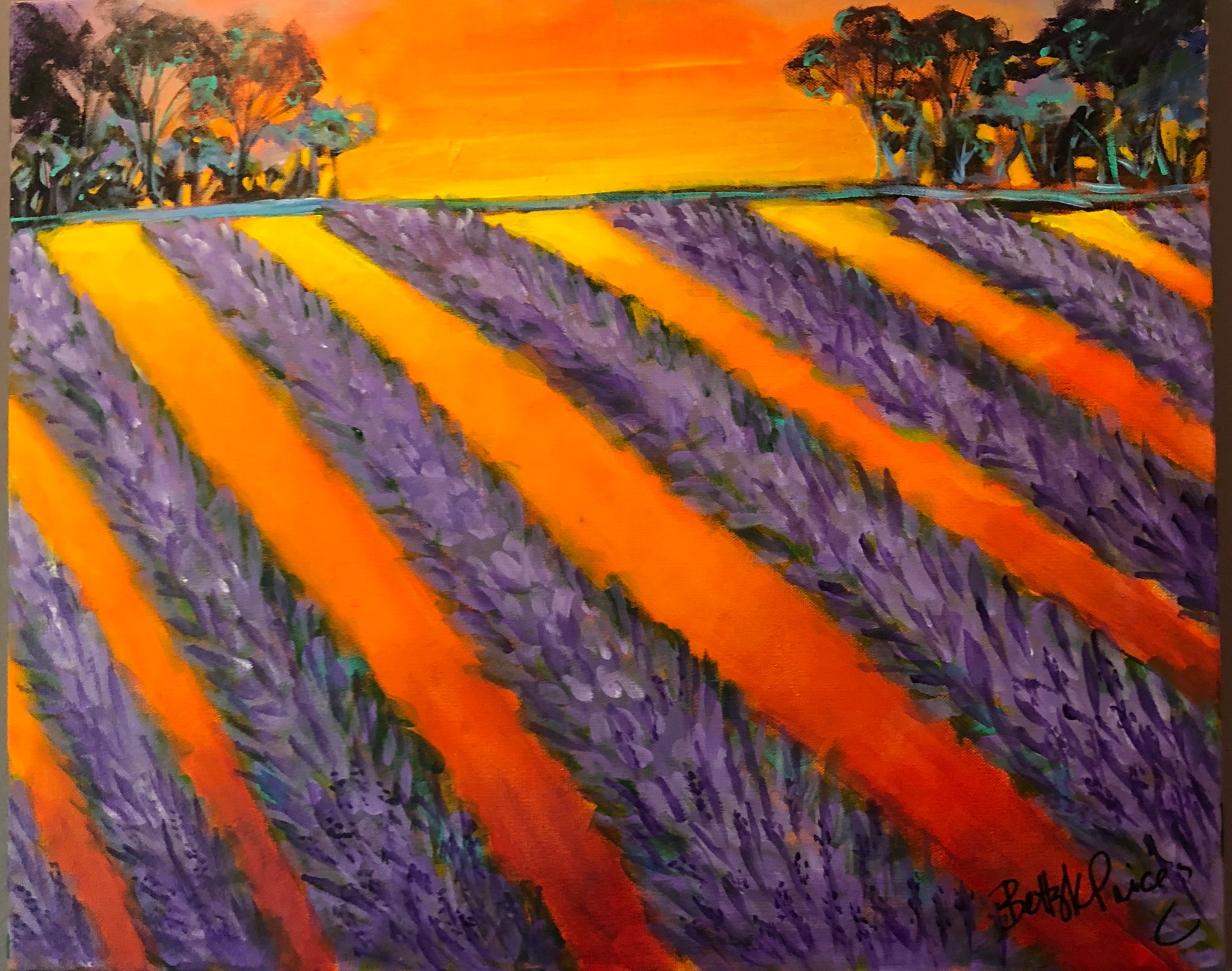 Lavender @ Sunset Paint & Sip  - 9/20/18 @ 6PM