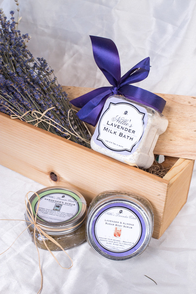 Organic Lavender and Almond Sugar Scrub
