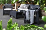 Patio Set Furniture Outdoor Wicker Chairs Table Sofa With Cushions Garden Bistro - ShopMonkeez  - 2