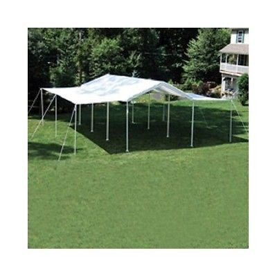 Canopy Sidewall Kit Extension 10 X 20 Event Tent Carport Workstation Walls White - ShopMonkeez  - 1