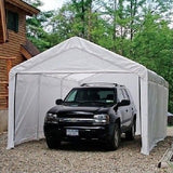Canopy Door Kit Roll Up Shelter Enclosure Sidewall 10 X 20 Party Tent Carport - ShopMonkeez  - 1