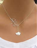 Leaves and Bird Pendant Necklace - FREE! - ShopMonkeez  - 1