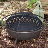 Campfire Fire Pit Bronze with Free Outdoor Cover - ShopMonkeez  - 2