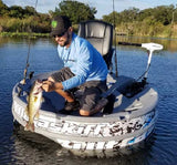 Round Fishing Boat Angler Platform Watercraft