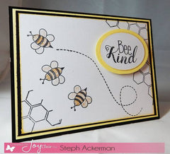 Clear Stamps - Bee Kind | Bible Journaling Clear Stamps - Joy Clair - 8