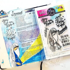 A Child is Born | Bible Journaling Clear Stamps