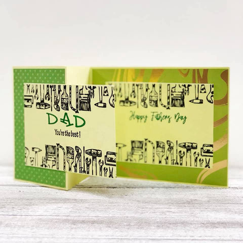 Best Dad Ever Clear Stamps