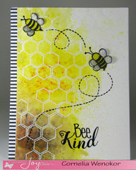 Clear Stamps - Bee Kind | Bible Journaling Clear Stamps - Joy Clair - 4