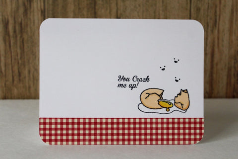 Breakfast Friends Forever Clear Stamps