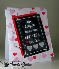 Love Coupon Clear Stamps - Joy Clair - 2