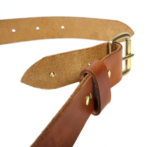 Classic Leather Belt - Saddle Tan