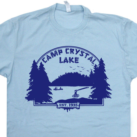 friday the 13th vintage t shirt camp crystal lake t shirt