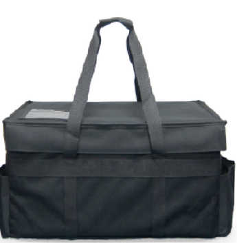 MDRDX - Medium Velcro Closure Hot or Cold Restaurant Delivery Bag (Price Delivered Packed 2 Per Case -- Unit Price: $63.99)