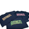 The Anthem Neon Logo Tee - Green
