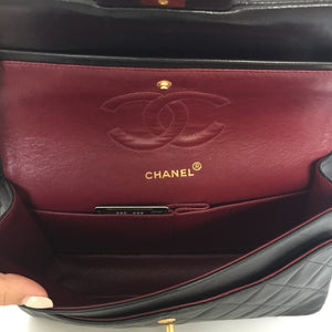 Authentic CHANEL Vintage Double Flap 10""