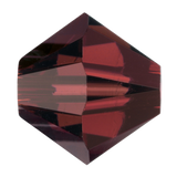 Swarovski #5328 Bicone Bead-Choose Size (Burgundy)