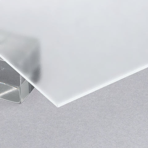 Acrylic Sheet, Transparent Matte Clear (No Color) P95 (#1000MT)