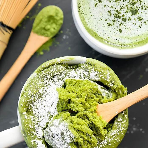 Matcha Green Tea Mug Cake