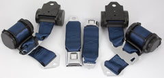 1974-77 Corvette Shoulder Belt System with Dual Retractors-RetroBelt