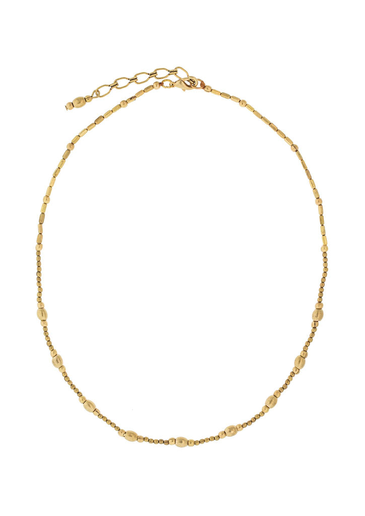 <br>The Cali Necklace <br> Brass