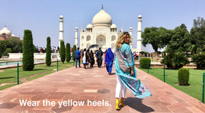 Wear The Yellow Heels