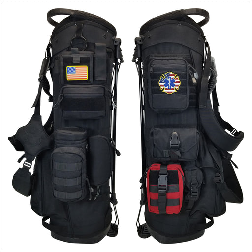 TactiCool - BAMF Golf Bag: First Responder - 2018 - tactical - military - police - veteran - molle