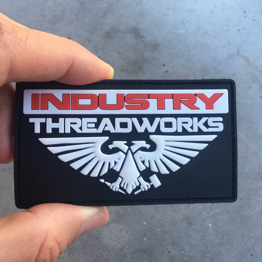 Industry PVC Patches - Velcro