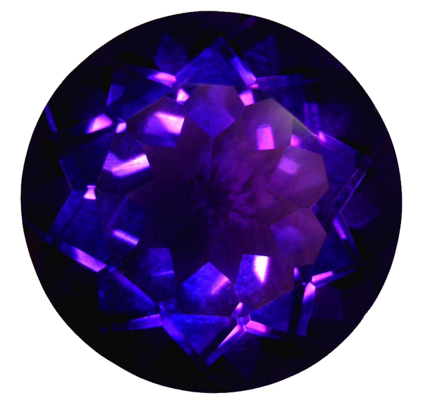 Natural Extra Fine Deep Russian Purple Amethyst - Round - Russia - Extra Fine Grade - NW Gems & Diamonds