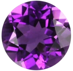 Natural Fine Royal Purple Amethyst - Round - Brazil - Top Grade - NW Gems & Diamonds