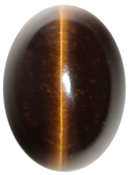 Natural Extra Fine Deep Bronze Tiger's Eye - Oval Cabochon - South Africa - AAA+ Grade