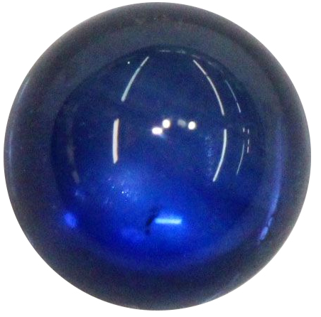 Natural Extra Fine Blue Sapphire - Round Cabochon - Sri Lanka - AAA+ Grade