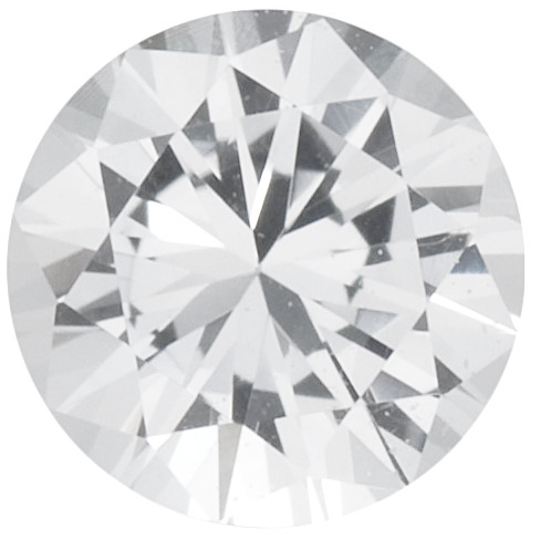 Natural Fine White Sapphire - Round - East Africa - Top Grade - NW Gems & Diamonds
