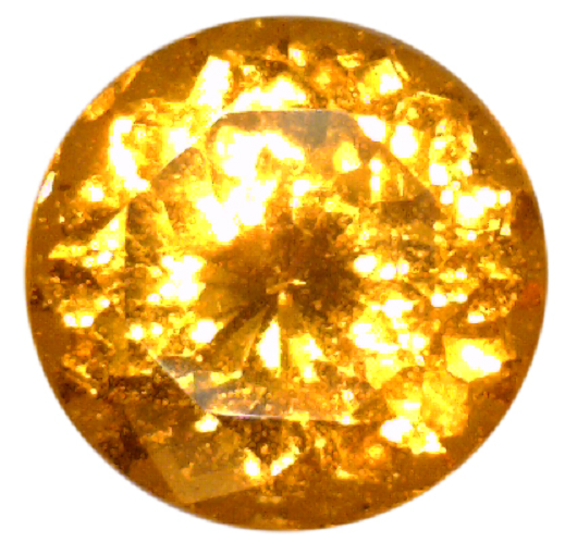 Natural Fine Rich Orange - Round - India - Top Grade - NW Gems & Diamonds