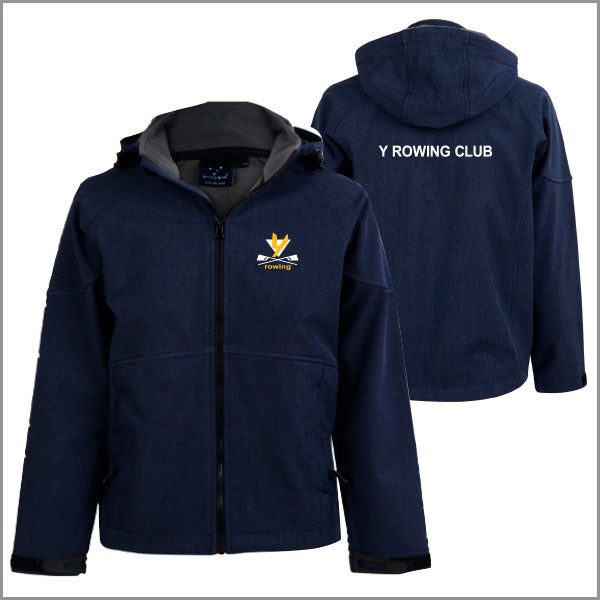 Y Rowing Club Softshell Jacket Unisex