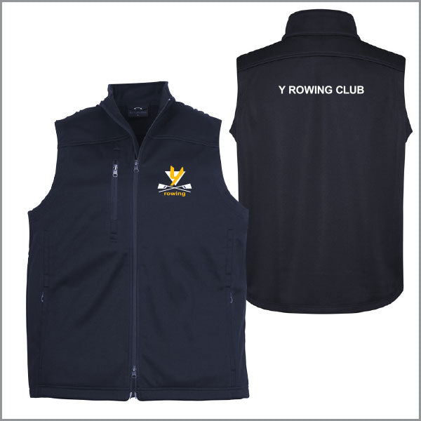 Y Rowing Club Softshell Vest Unisex