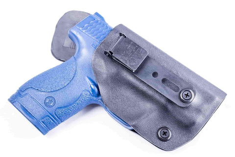 Calamity FF1U · Kydex IWB Holster with ULTICLIP™ and Leather Comfort Tab