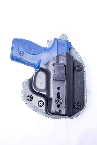 Calamity PR1 · Kydex-Neoprene-Leather Hybrid IWB Holster with ULTICLIP™