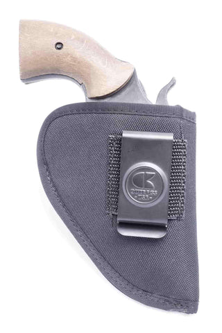 "NS07 · Nylon IWB Conceal Carry Holster · For most 2"" 6-shot revolvers"