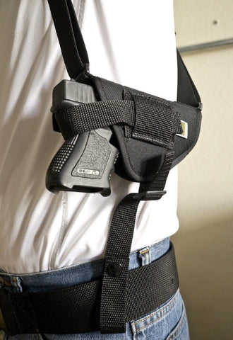 NSH30 · Horizontal Shoulder Holster w/ Double Mag Pouch