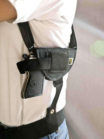 NSH31 · Horizontal Shoulder Holster w/ Double Mag Pouch