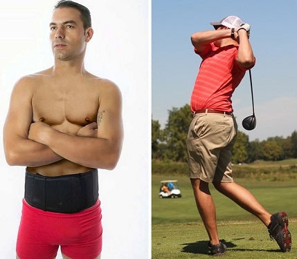 golf back brace for men