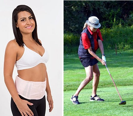 golf back brace for women