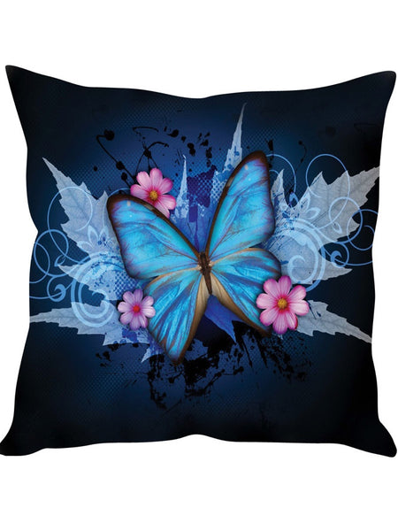Mix of Blue Designer Cushion Cover