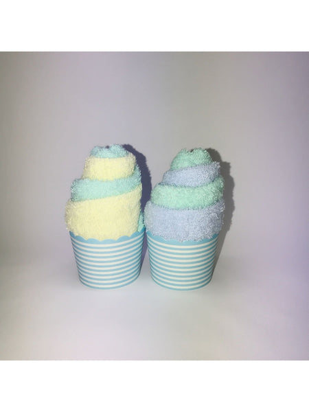 Twin Towel Set in Blue Color