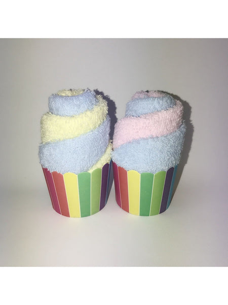 Twin Towel Set in Rainbow Color