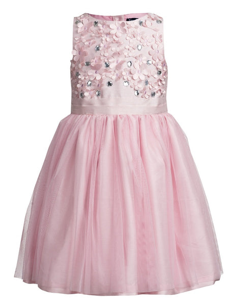 Baby Pink Frock (4-6Yrs) - PurpleTulsi.com