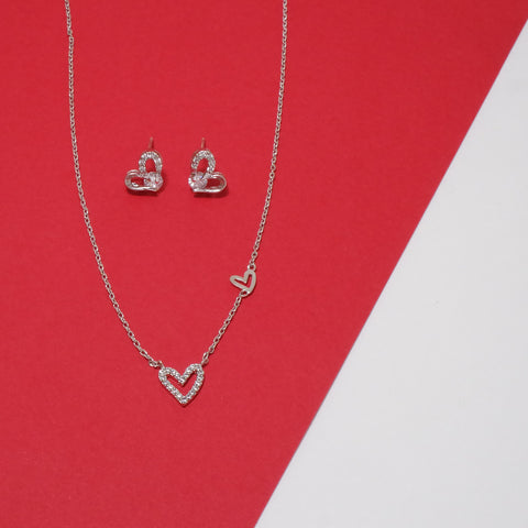 Eternal Love Earrings & Necklace [Spring Waltz]