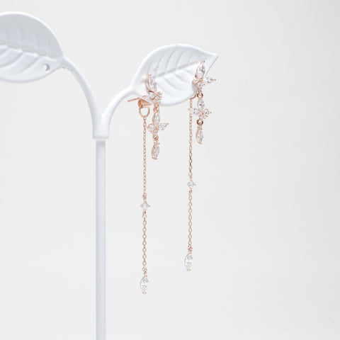 Season Of Flower Earrings [Touch Your Heart ]