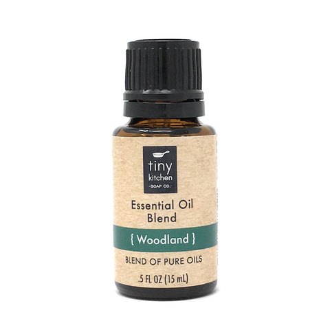 Essential Oil Blend - Woodland - 100% Pure & Undiluted, Therapeutic Grade