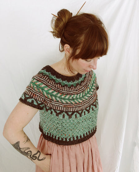 Soldotna Crop Sweater